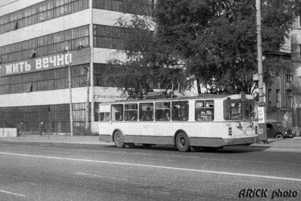 Фото старых троллейбусов города Владимира 57