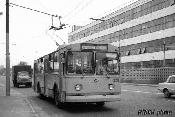 Фото старых троллейбусов города Владимира 58