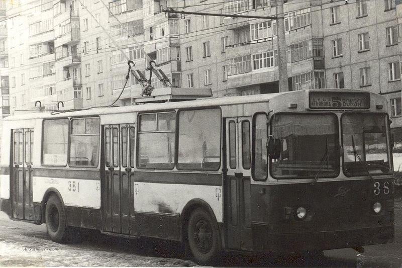 Фото старых троллейбусов города Владимира 59