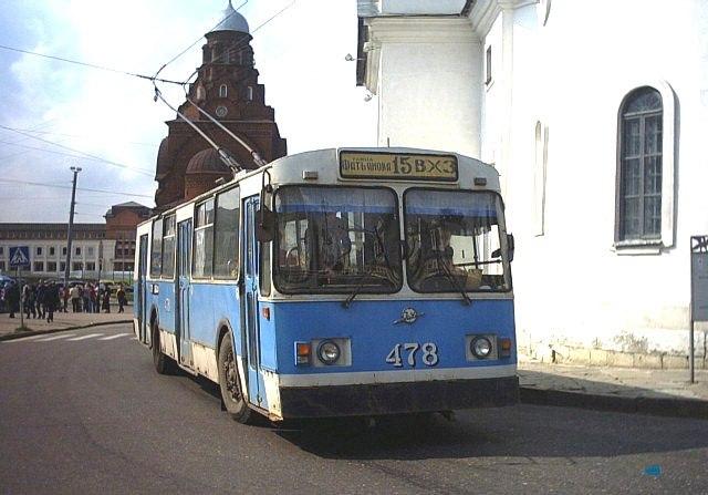 Фото старых троллейбусов города Владимира 62