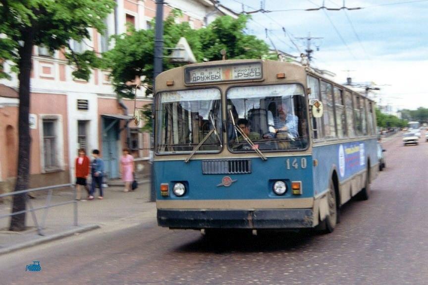 Фото старых троллейбусов города Владимира 63