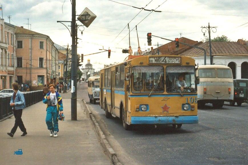 Фото старых троллейбусов города Владимира 64