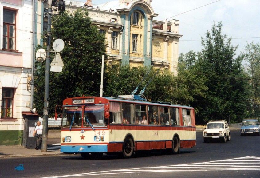 Фото старых троллейбусов города Владимира 67
