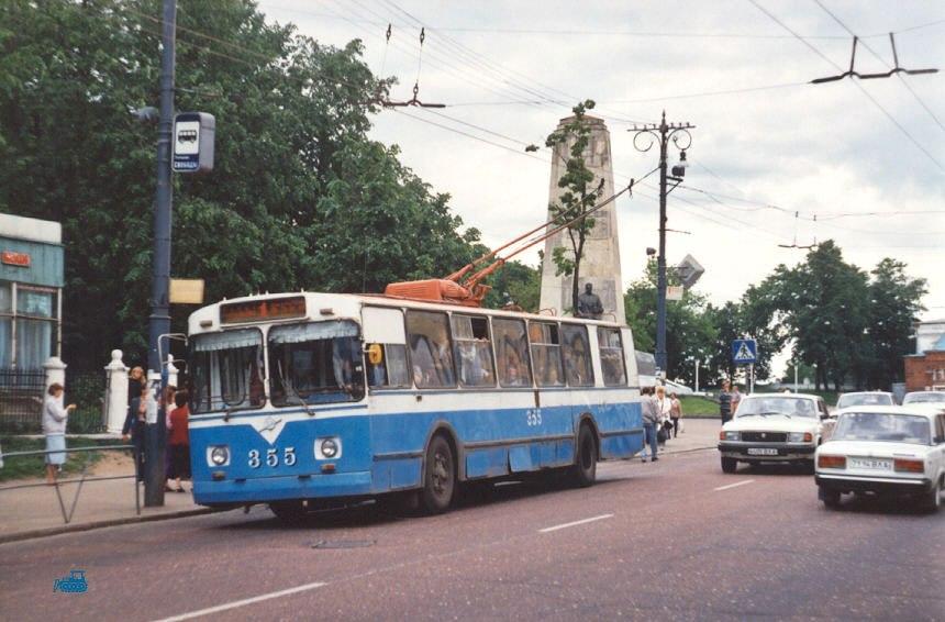 Фото старых троллейбусов города Владимира 68