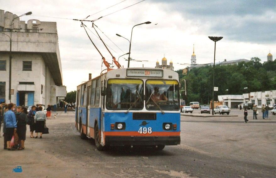 Фото старых троллейбусов города Владимира 70
