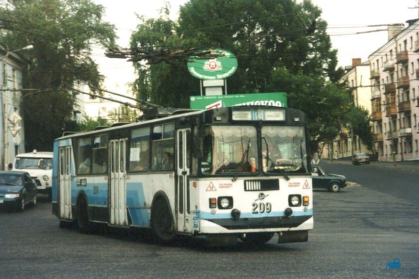 Фото старых троллейбусов города Владимира 71