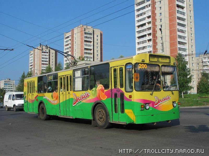 Фото старых троллейбусов города Владимира 72 (101)