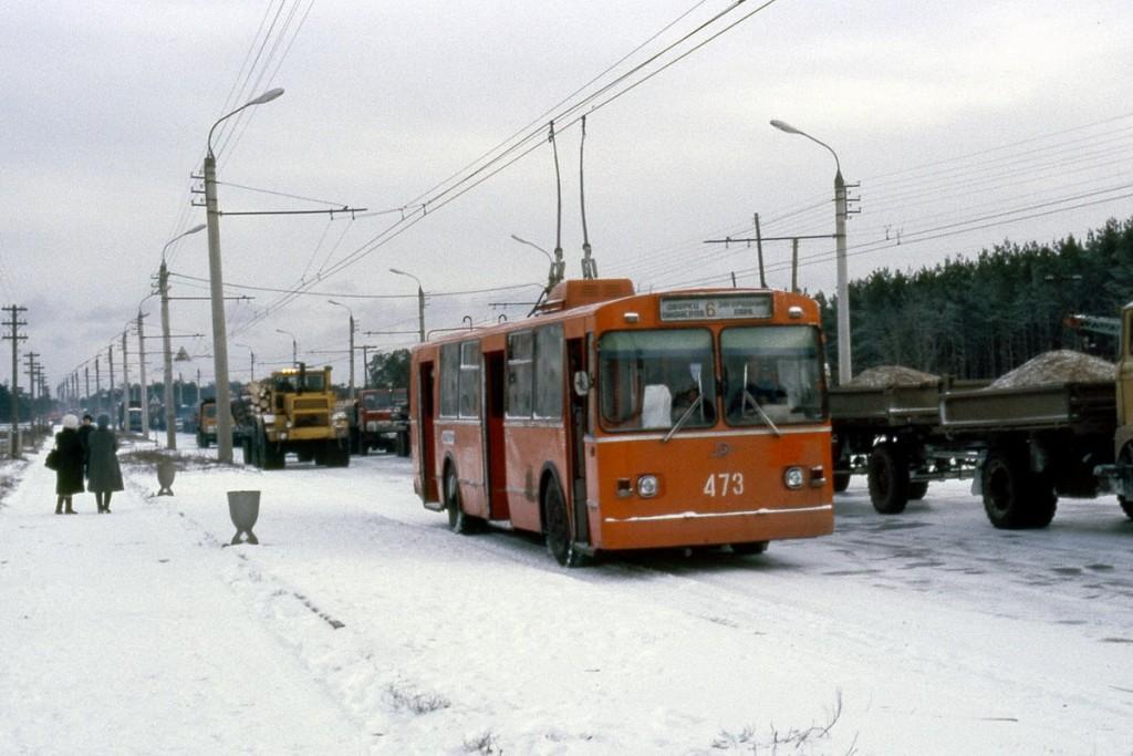 Фото старых троллейбусов города Владимира 77