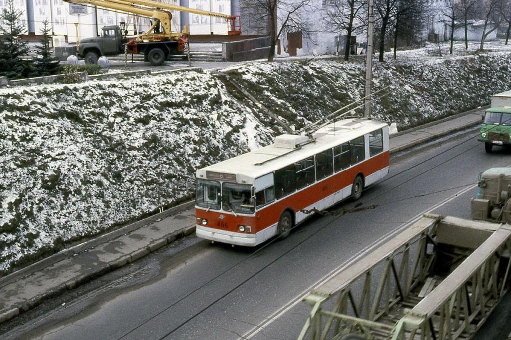 Фото старых троллейбусов города Владимира 78