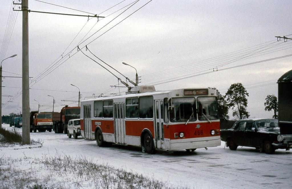 Фото старых троллейбусов города Владимира 79