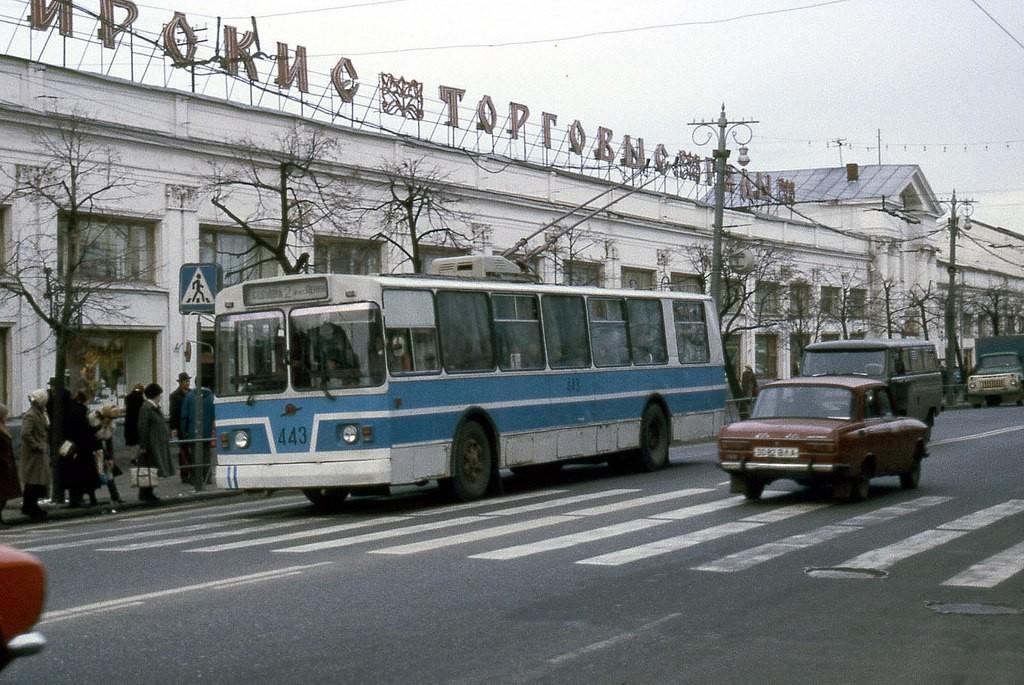 Фото старых троллейбусов города Владимира 81