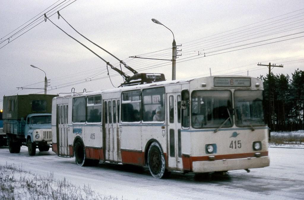 Фото старых троллейбусов города Владимира 82