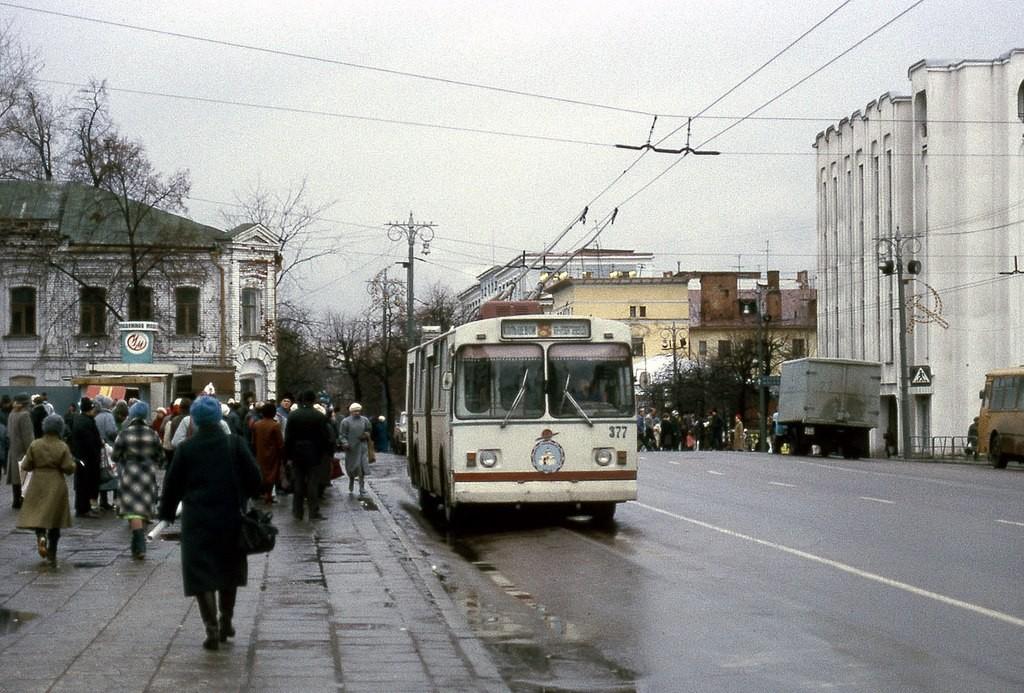 Фото старых троллейбусов города Владимира 83