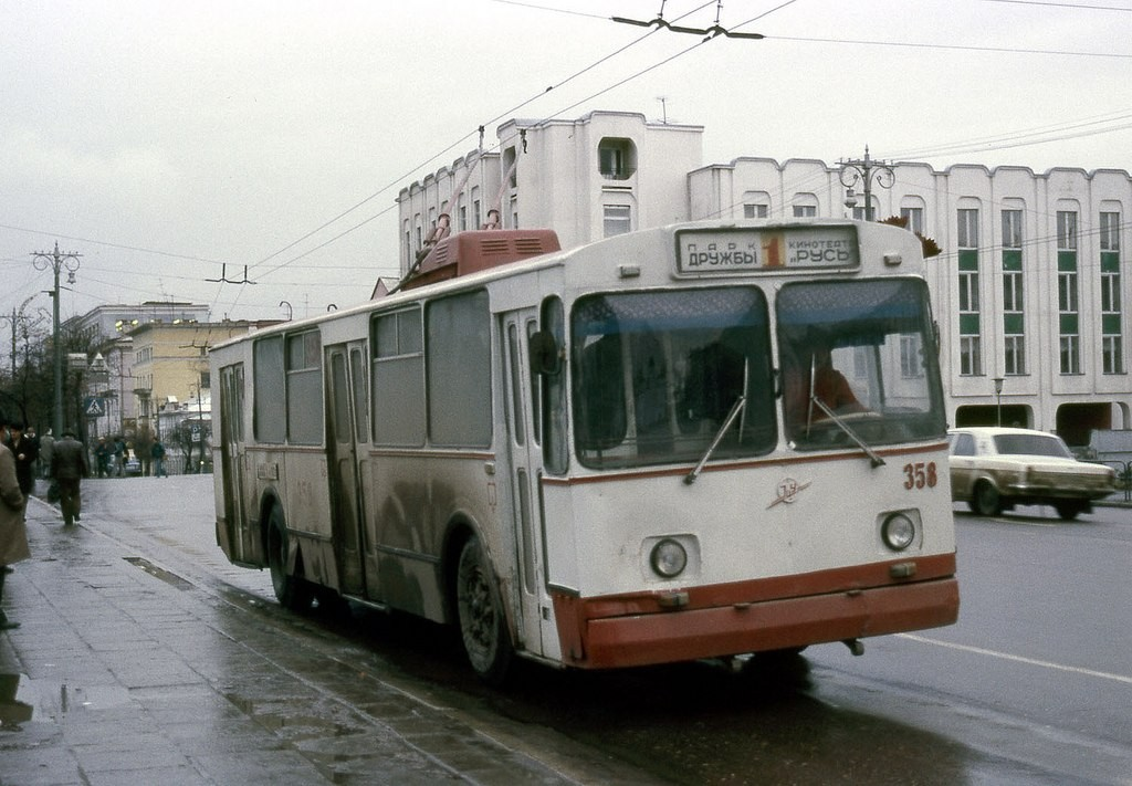 Фото старых троллейбусов города Владимира 84