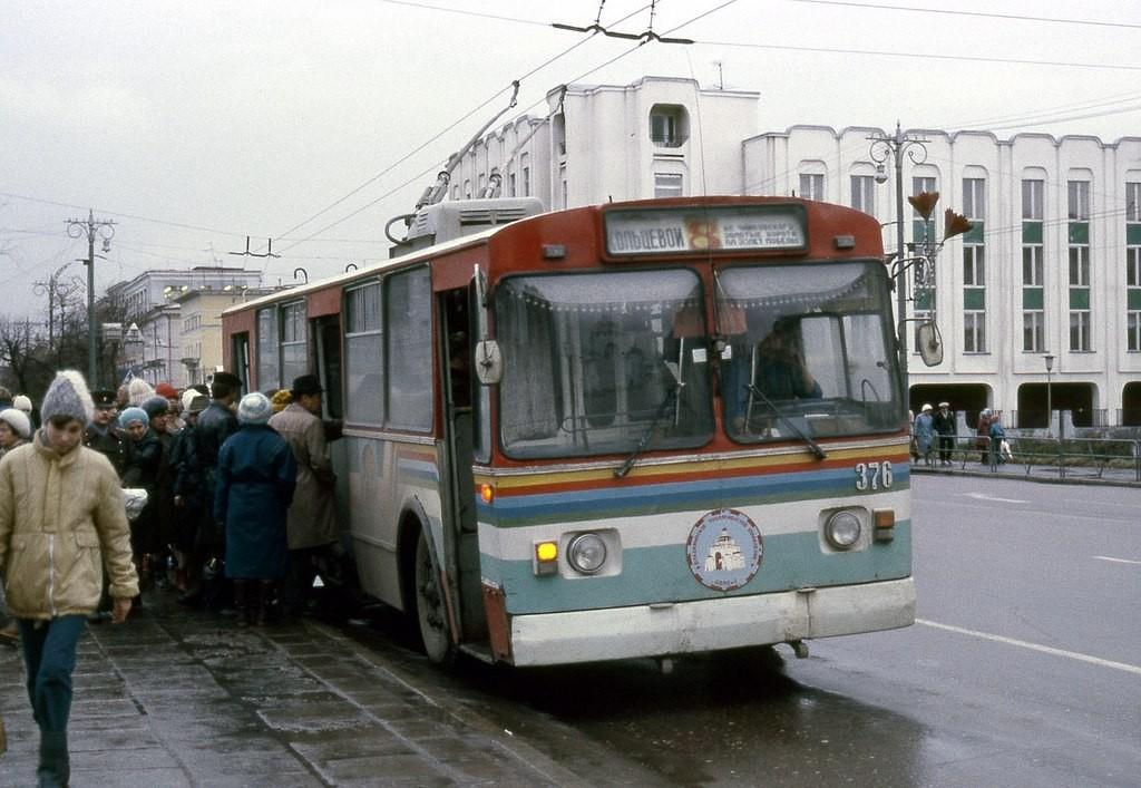 Фото старых троллейбусов города Владимира 85