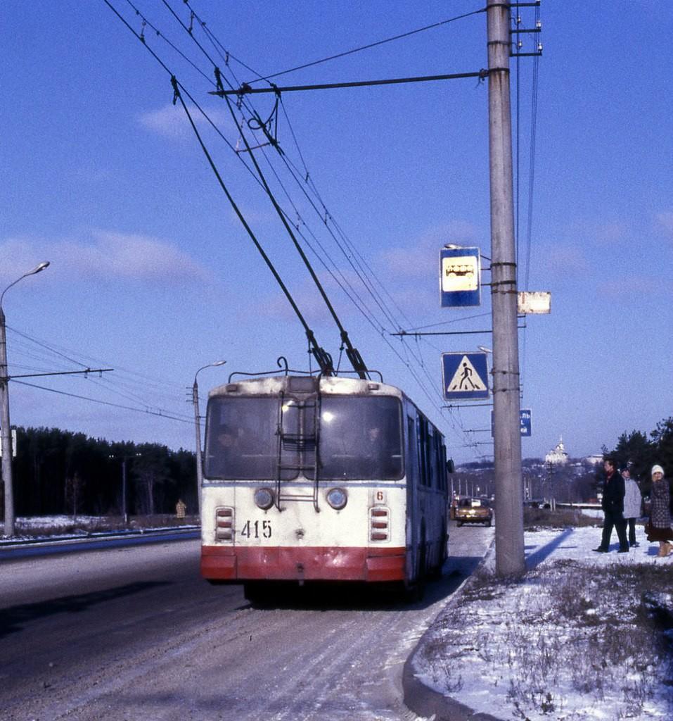 Фото старых троллейбусов города Владимира 86