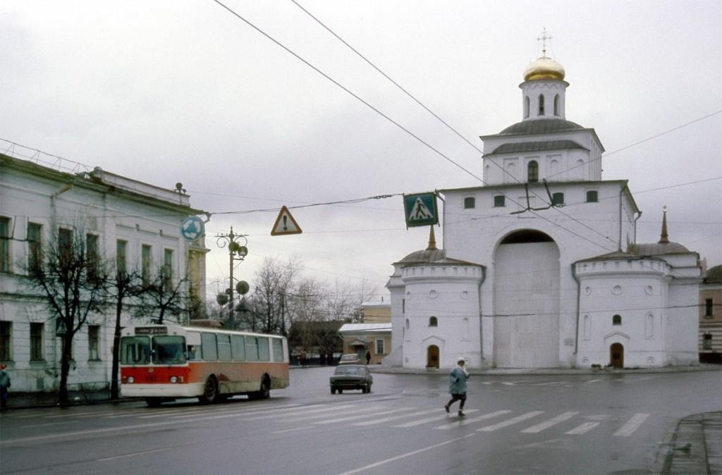 Фото старых троллейбусов города Владимира 87