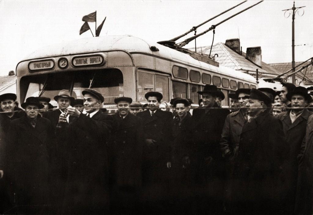 Фото старых троллейбусов города Владимира 94