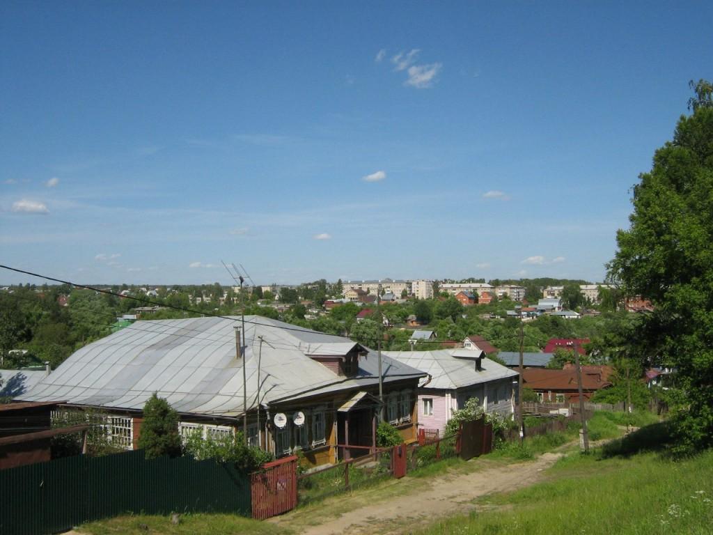 г. Лакинск. Собинский район. Панорама с Ундольской горы