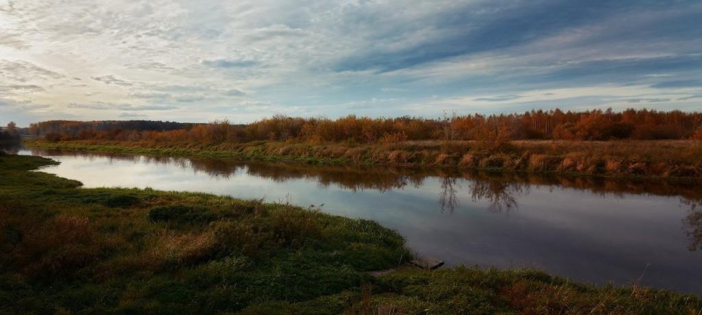 река Уводь, д. Приволье (бывш. Объедово), Камешковский р-н