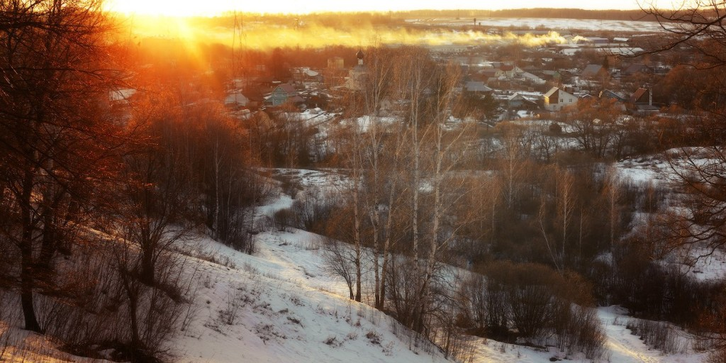 село Сновицы, Суздальский р-н. Панорама
