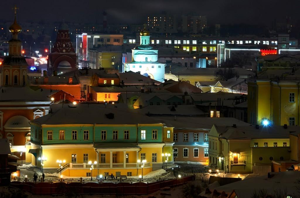 Вечерний, предновогодний, праздничный Владимир 07