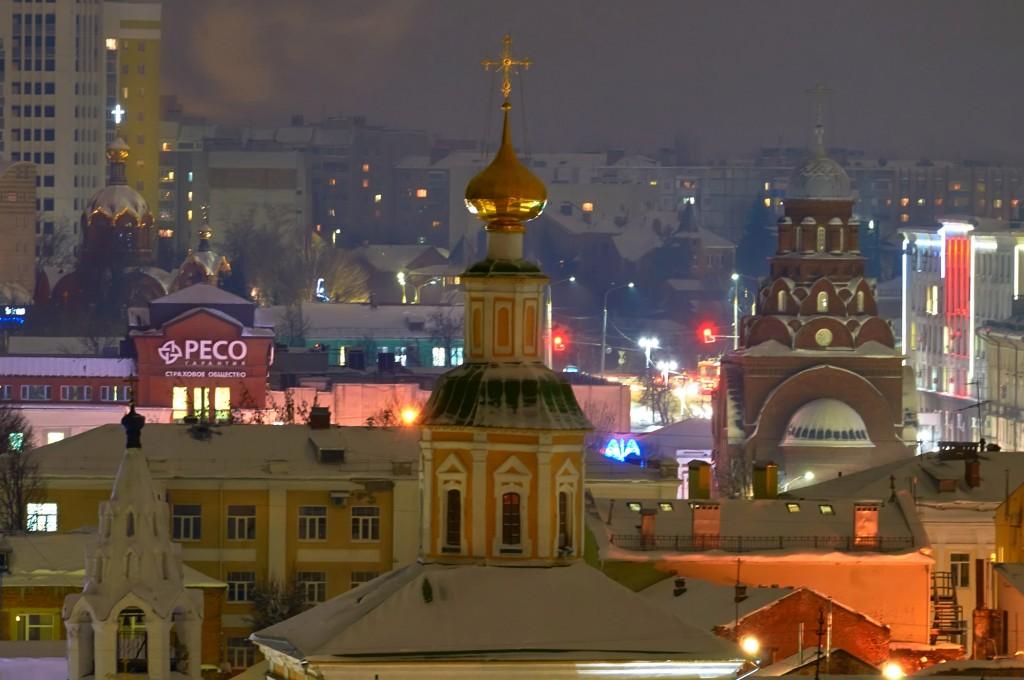 Вечерний, предновогодний, праздничный Владимир 09