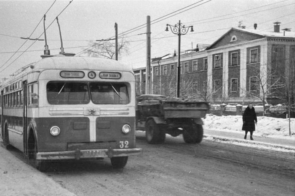 Владимир, МТБ-82Д № 32 — маршрут 4