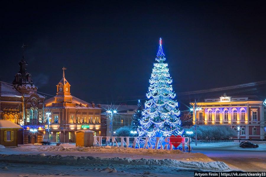Владимир - самый новогодний город России! 01