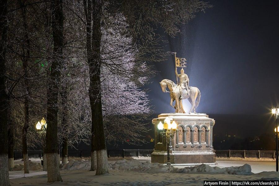 Владимир - самый новогодний город России! 09