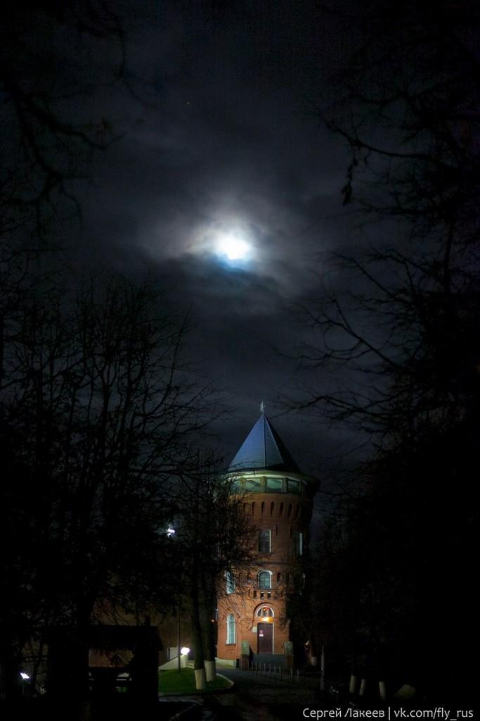 Водонапорная башня Владимира. Мистическая и мрачная.
