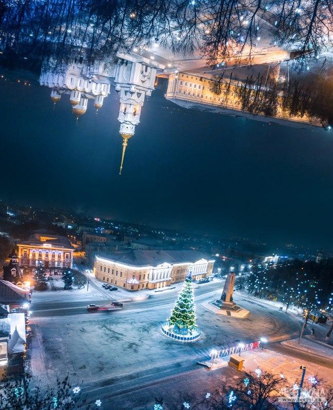 Город Владимир - Щепотка новогоднего волшебства 01