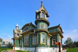 Деревянный дом промышленника Шорина, Гороховец