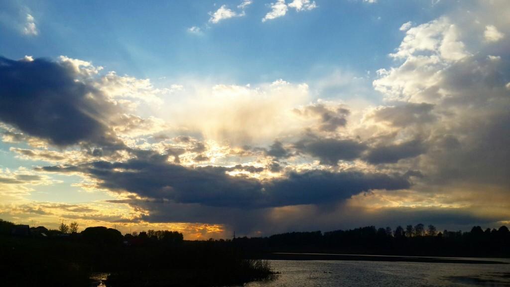 Закат на о. Дичковское, Александров