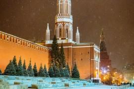 Зима в самом сердце России. Москва Красная площадь