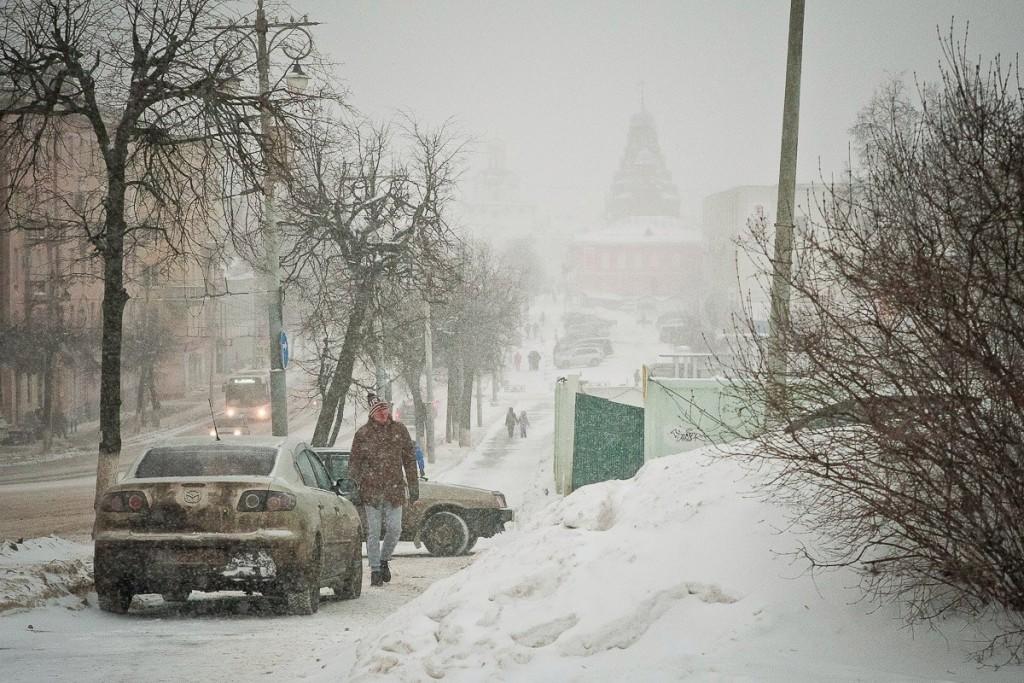 Зима разыгралась не на шутку (первые числа декабря 2016) 03