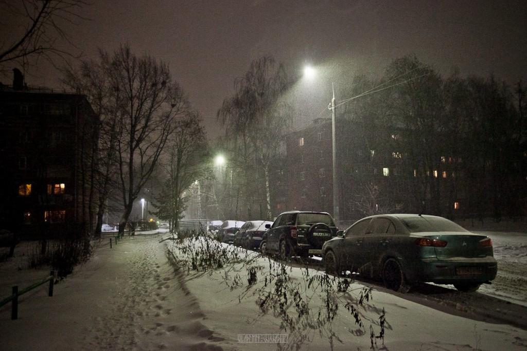 Зима разыгралась не на шутку (первые числа декабря 2016) 08