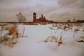 Зимнее путешествие к храму в Семёновке