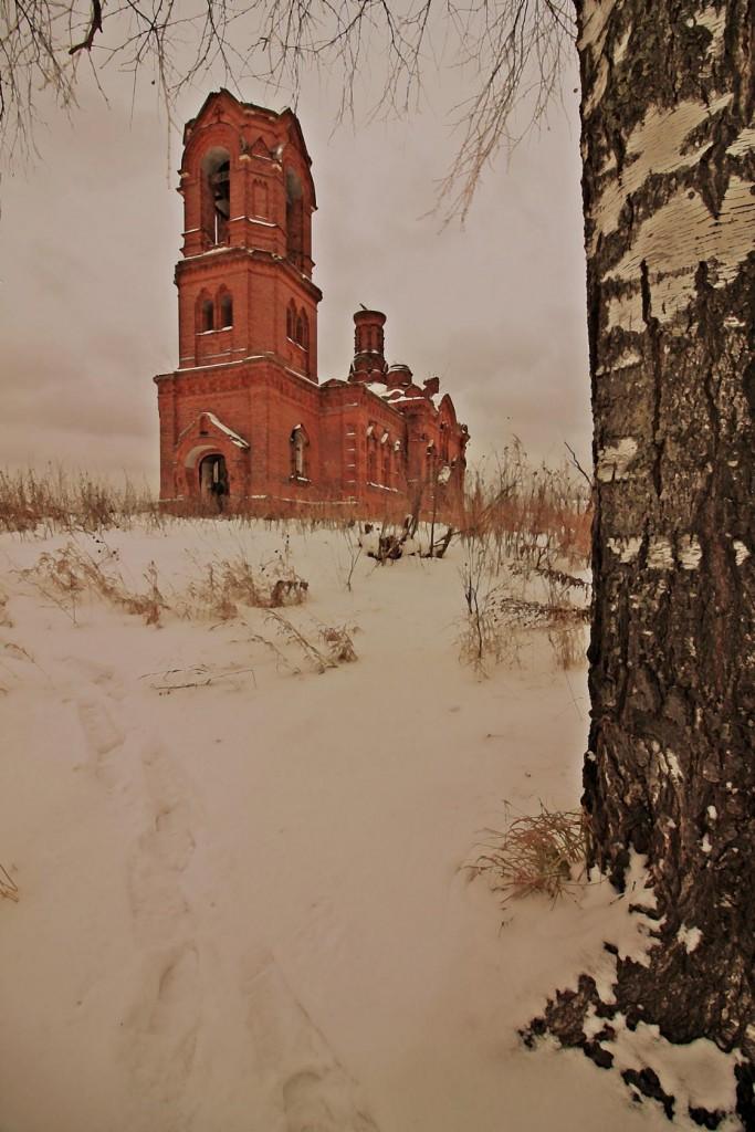 Зимнее путешествие к храму в Семёновке 03