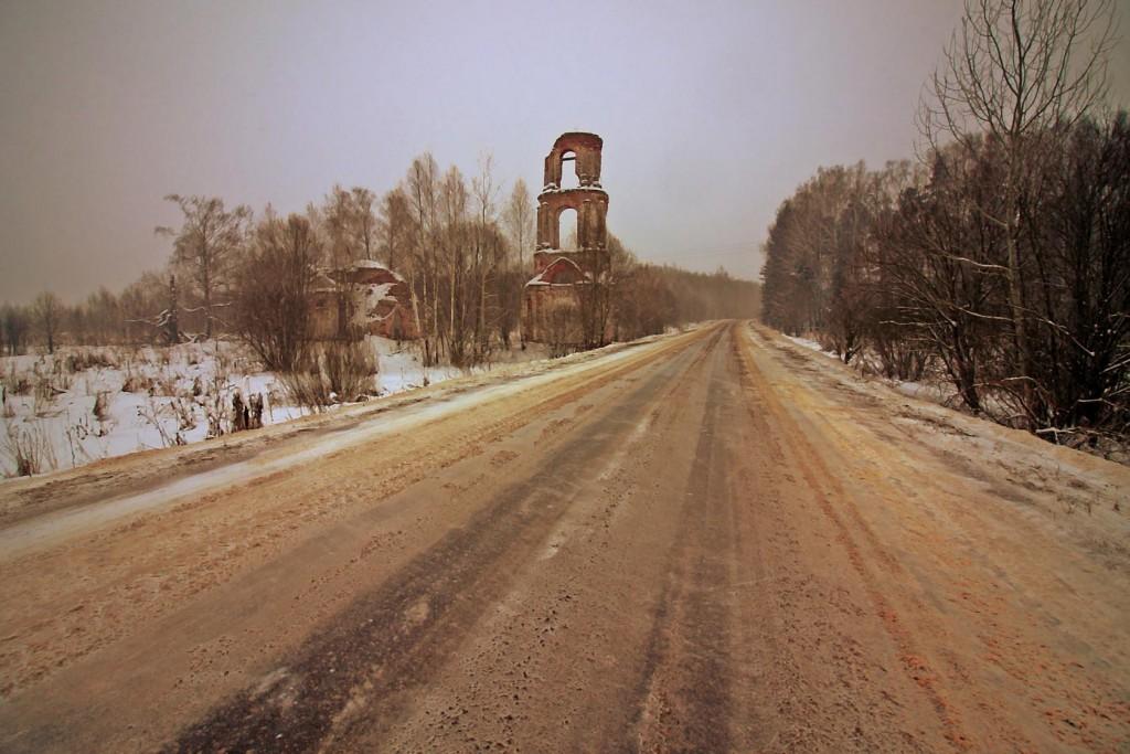 Зимнее путешествие к храму в Семёновке 07