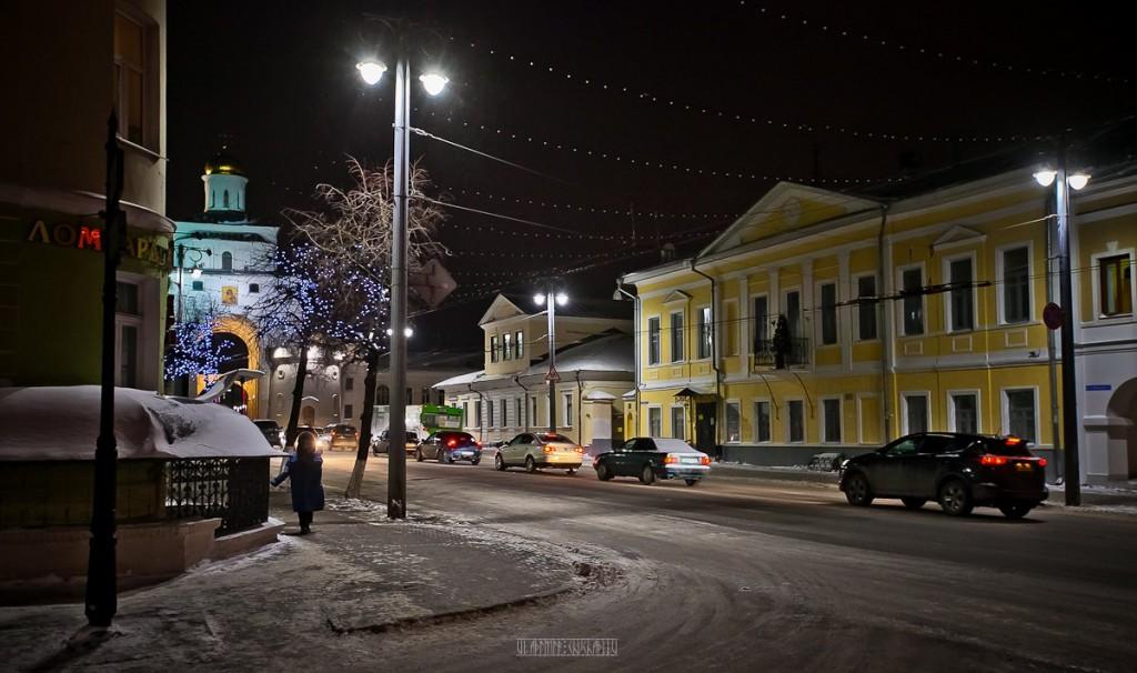 Зимние улочки Владимира 04