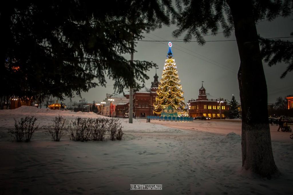 Зимние улочки Владимира 05