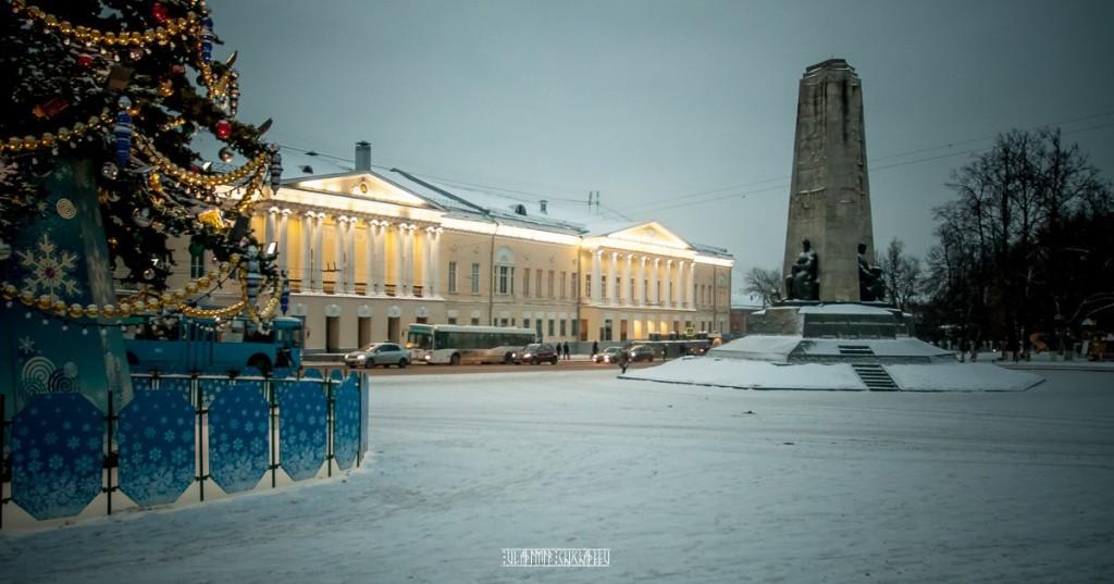 Зимние улочки Владимира 06