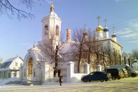 Ковровская святыня зимой