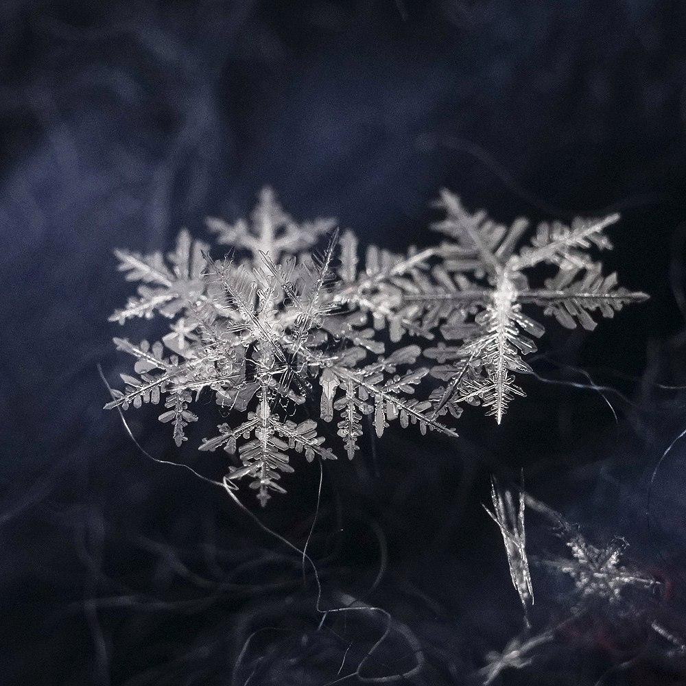 Новогодние снежинки 01