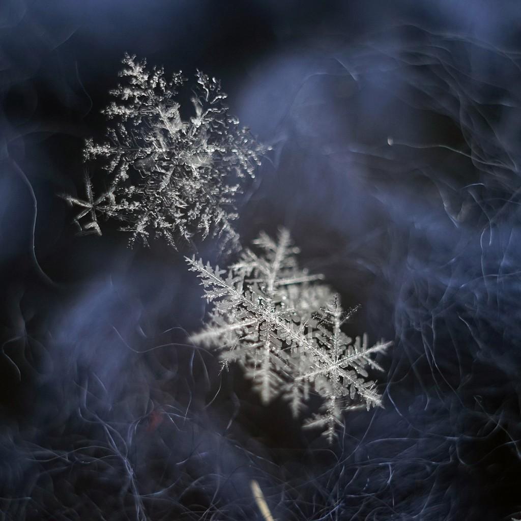Новогодние снежинки 07