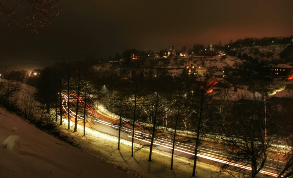Ночной Владимир, улица Муромская