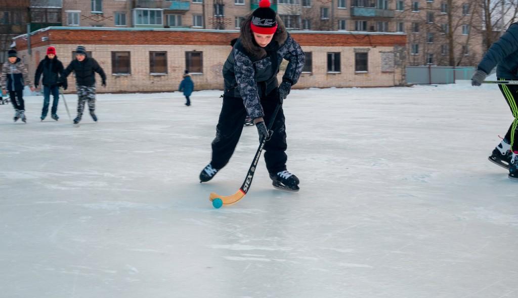 Открытие сезона катания на коньках, Текмаш, Вязники 05