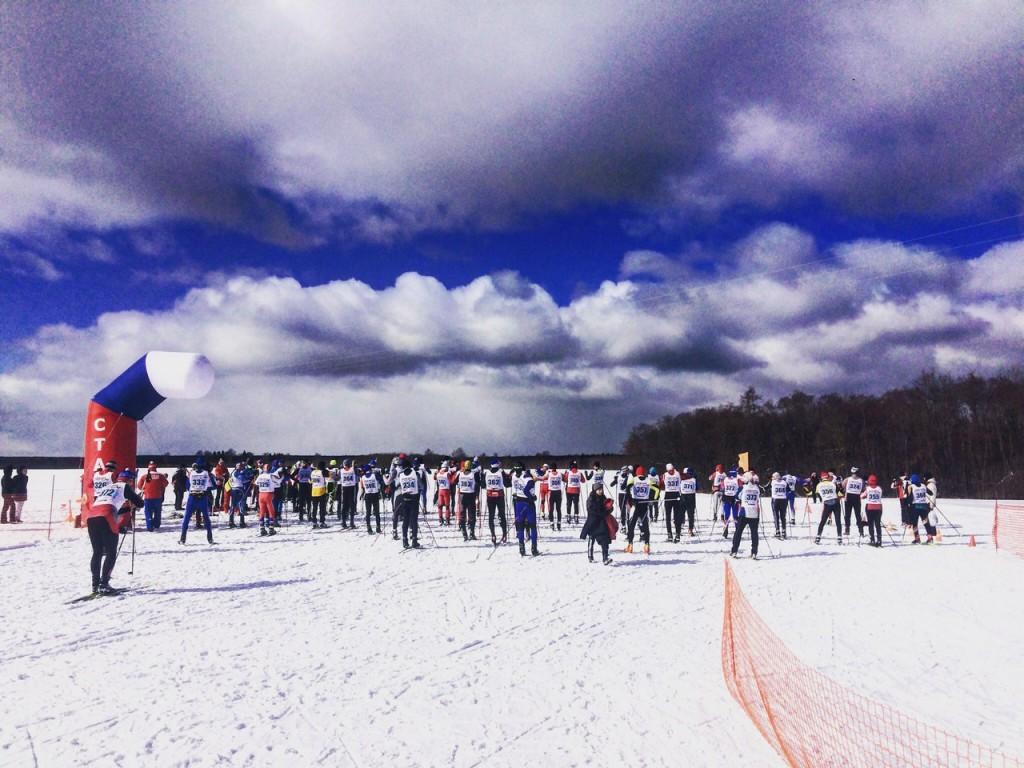 Прошлогодняя лыжня в Балакирево