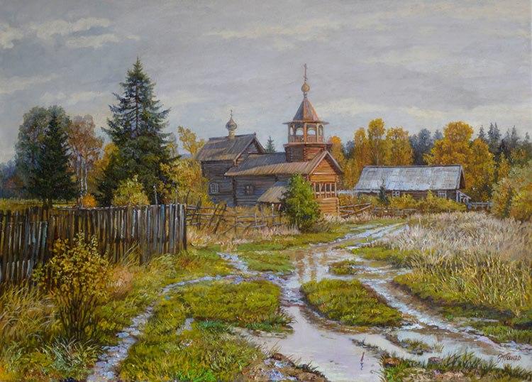 Русь Православная на картинах русского художника Эдуарда Панова 05